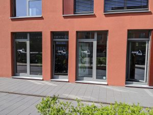 Das Haketing Office in Hannover Linden im roten Gebäude